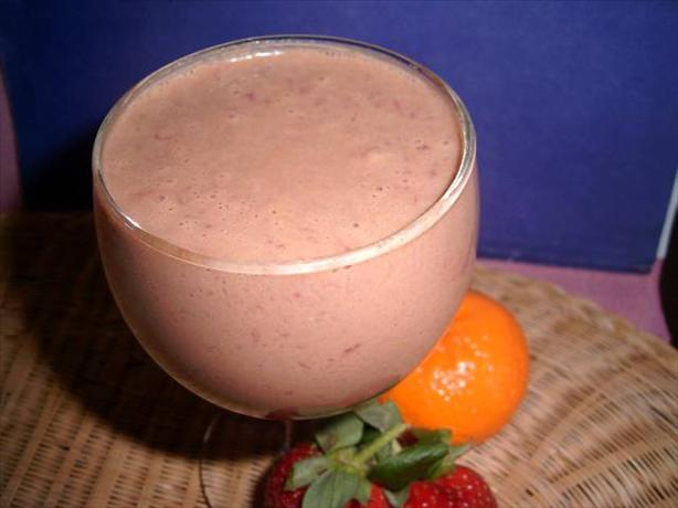 Peanut Berry Smoothie