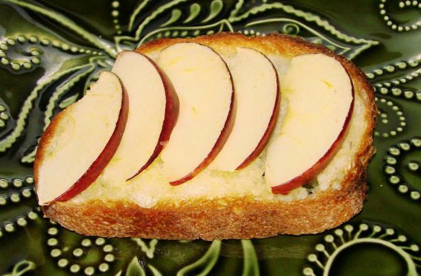 Apple Toasts.