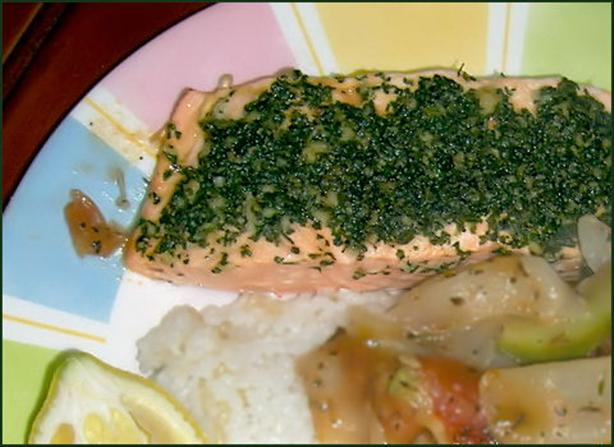 Cumin Coriander Crusted Salmon