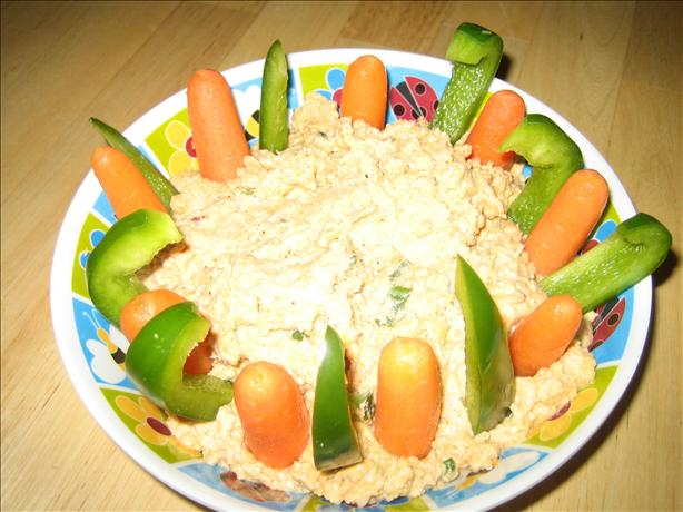 Spicy Vegetable Hummus