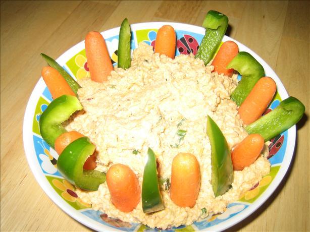 Spicy Vegetable Hummus