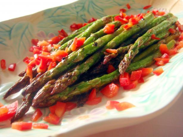 Marinated Grilled Asparagus