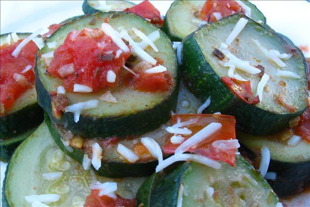 Zucchini & Tomato Skillet