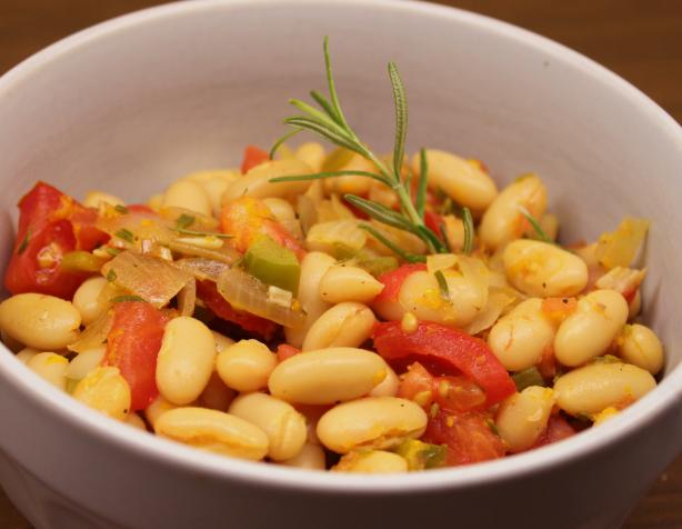 Cannellini Beans With Rosemary