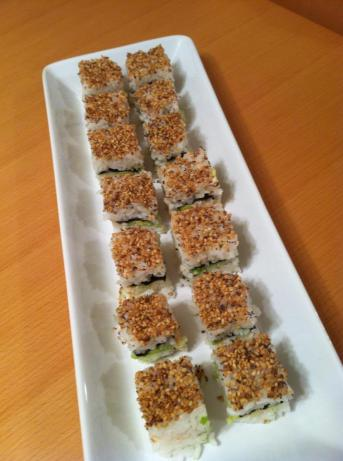Sensational California Sushi Squares