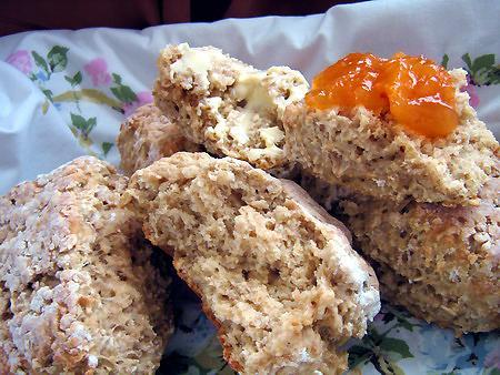 St. Brigids Oaten Bread from Ireland