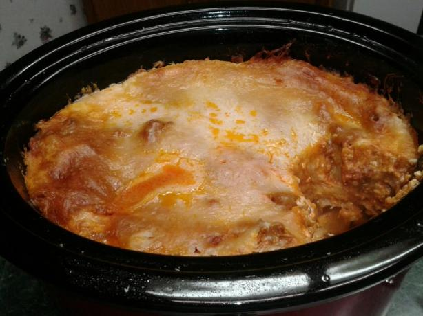 Crock Pot Lasagne