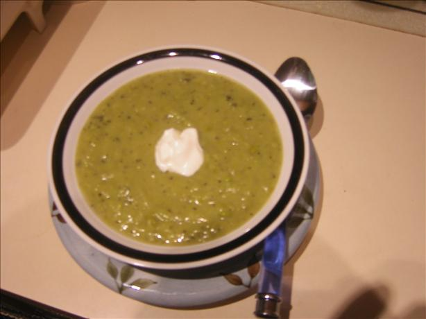 Leek and Petite Pea Soup