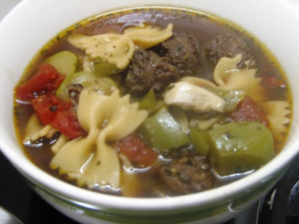 Mary's Italian Sausage Soup