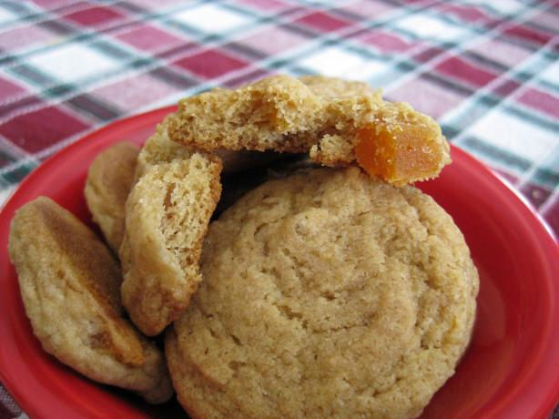 Sarah's Chopped Apricot Cookies