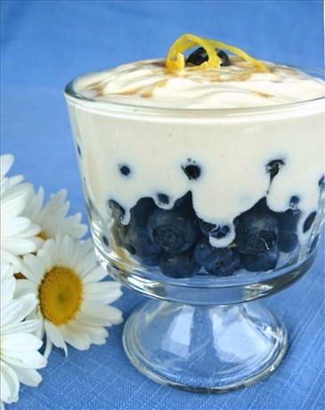 Blueberry Cream Treats