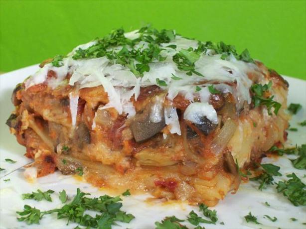 Sarah's Amazing Vegetarian Lasagna