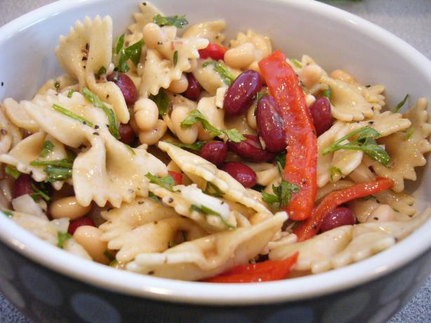 Mediterranean Farfalle (Bow Tie) Pasta Salad