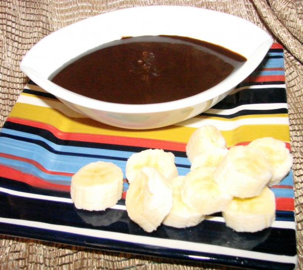 Chocolatier Dark Chocolate Orange Fondue
