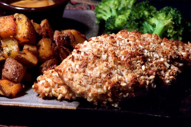Smoky Almond Chicken