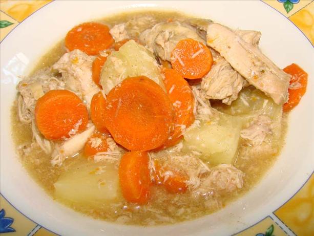 Gingered Chicken Stew (Crock Pot)