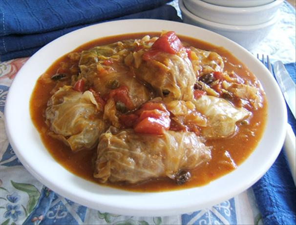 Shapiro's Stuffed Cabbage
