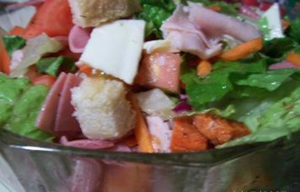 Submarine Sandwich Salad
