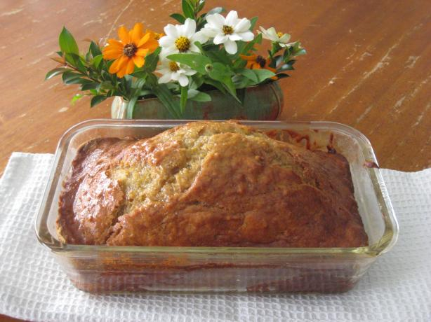 Lemon Syrup Banana Bread