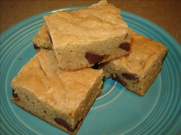 Chewy Saucepan Blondies