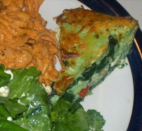 Spinach and Cheese Torta