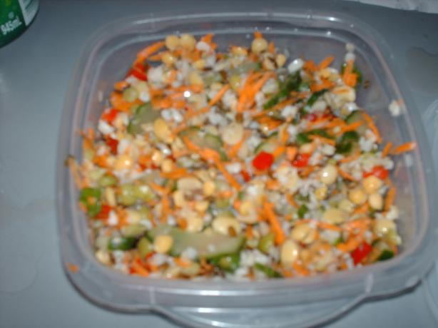 Colorful Lentil Salad