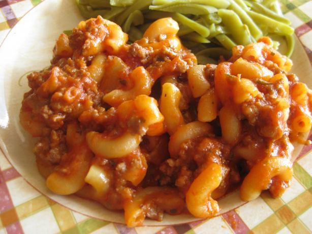 Macaraghetti Skillet Supper