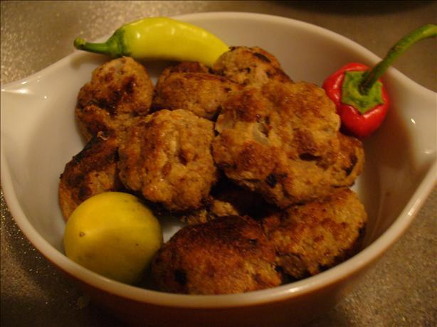 Simple Meatballs or Patties