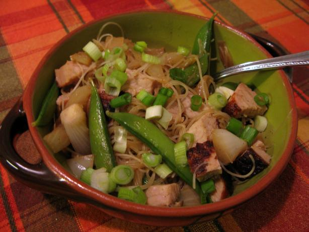 Curried Noodles With Pork