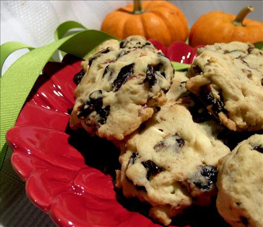 Rogene's White Chocolate and Cherry Cookies