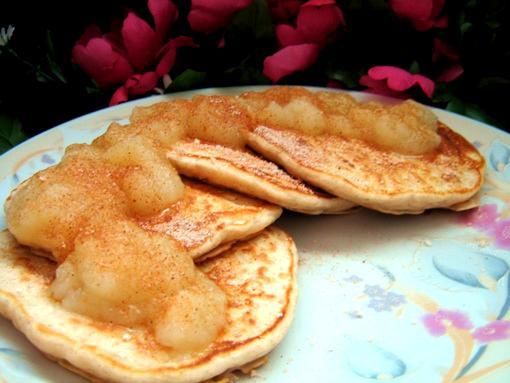 Margo's Oatmeal Pancakes