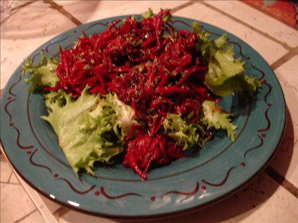 Beet and Raisin Salad