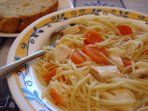 Cheater's Chicken Noodle Soup