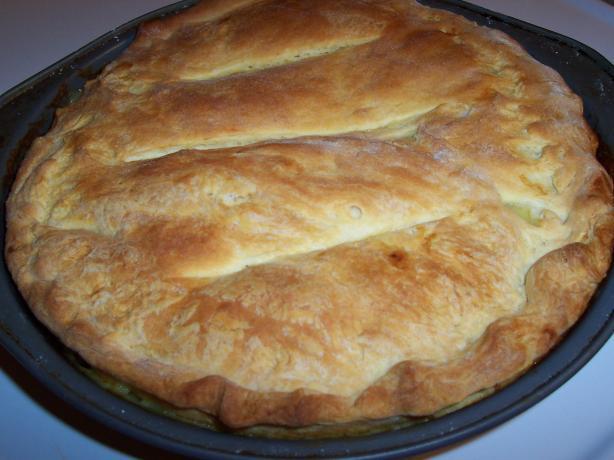 Four Ingredients Chicken Pot Pie