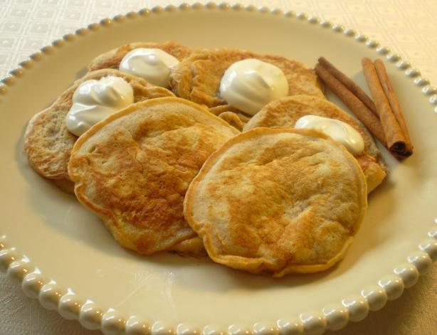 Apple-Cinnamon Blinis