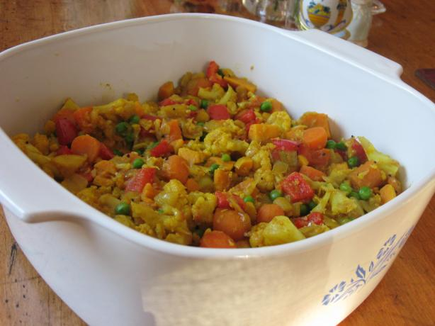 Wonderful Veggie Curry
