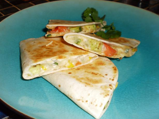 Grilled Avocado Quesadillas