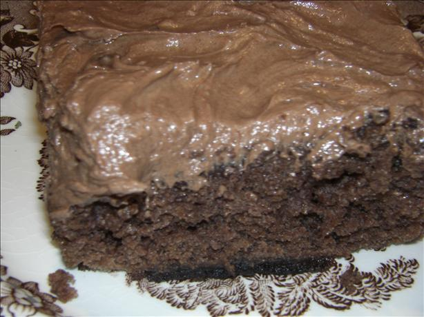 Frosted Buttermilk Brownies