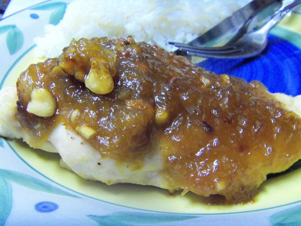 Chicken With Pineapple Sauce (Ww 5 Points)