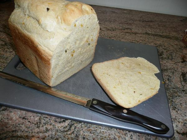 Bread Machine Corn-Jalapeño Bread