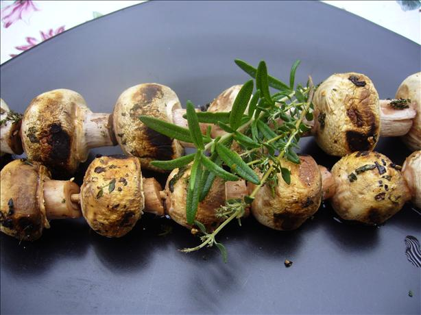 Mushroom Brochettes