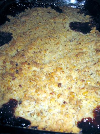Pear and Dried-Fruit Crisp With Nutmeg-Walnut Streusel