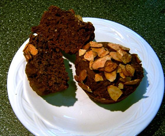 Vegan Mocha Almond Muffins