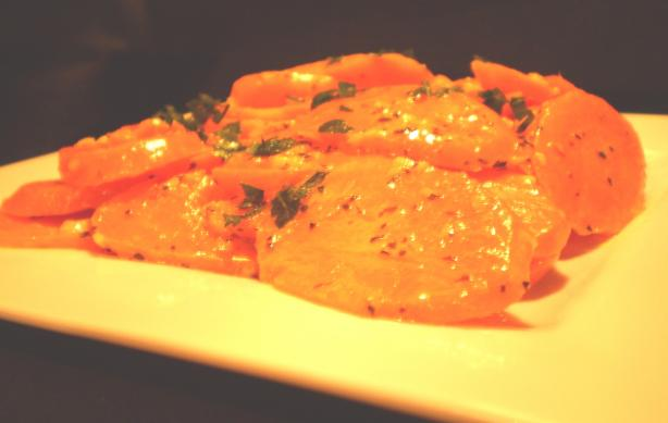 Auberge Creamed Carrots With Basil and Garlic