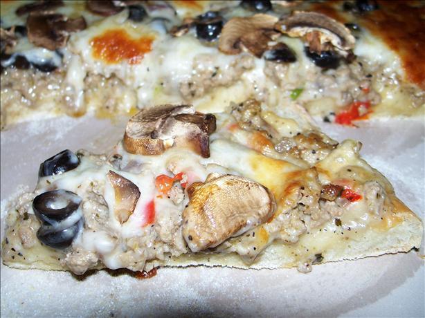 Turkey Style Pizza