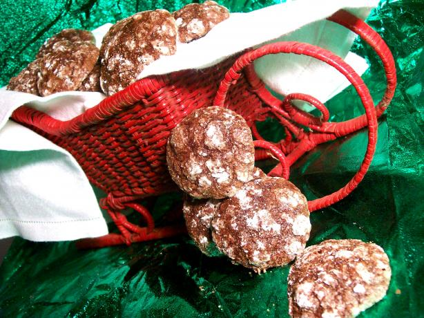 Rogene's Chocolate Crinkles