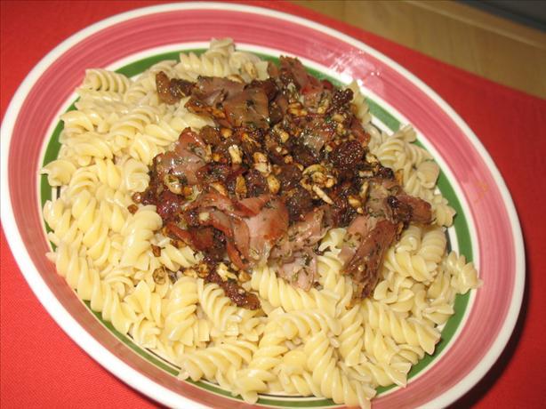 Ham & Raisin Pasta