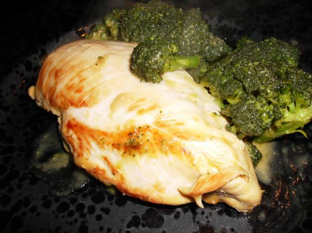 Chicken Breasts With Broccoli & Cheese