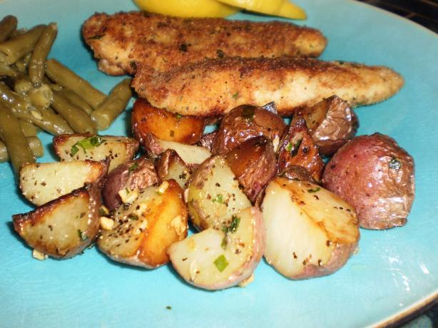 Garlic Skillet Red Potatoes