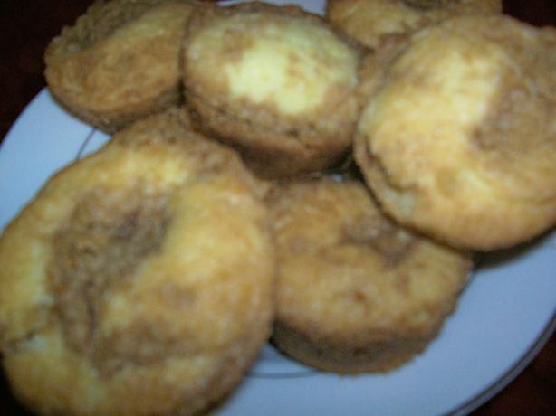 Cinnamon Crumb Cupcakes